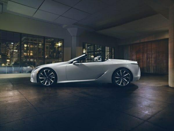 Lexus LC Convertible - concept