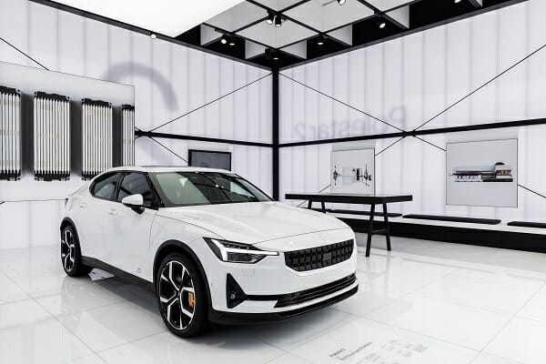Polestar 2 - right front view