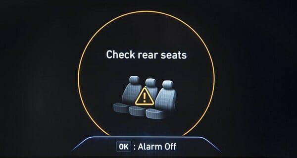 rear-seat warnings
