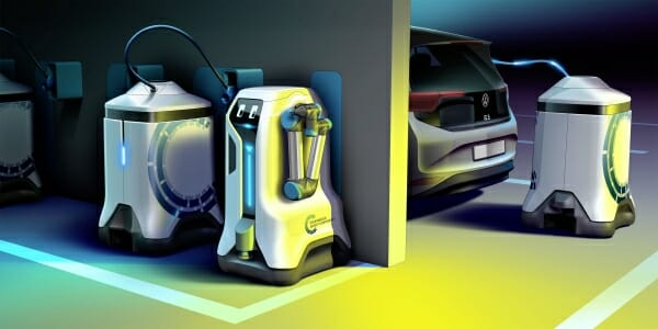 VW Mobile Charging Robots