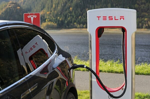 study on eco-friendly drivers - Tesla charging