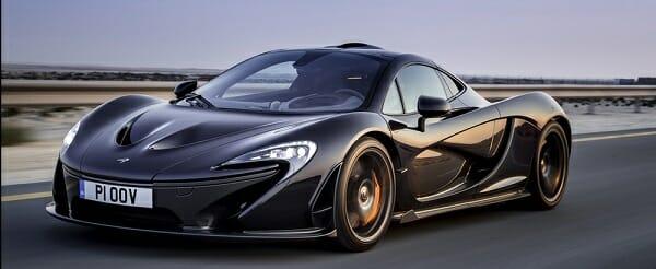 McLaren P1 black
