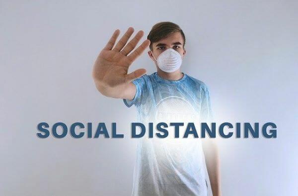 social distancing while car shopping