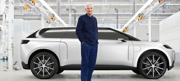 Dyson electric car - EV