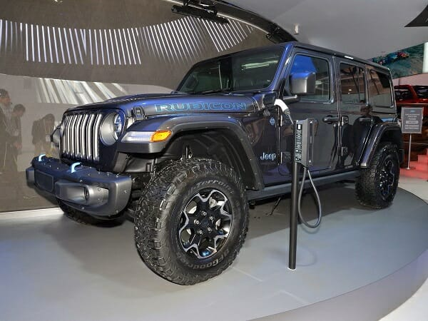 Electric Jeep Wrangler