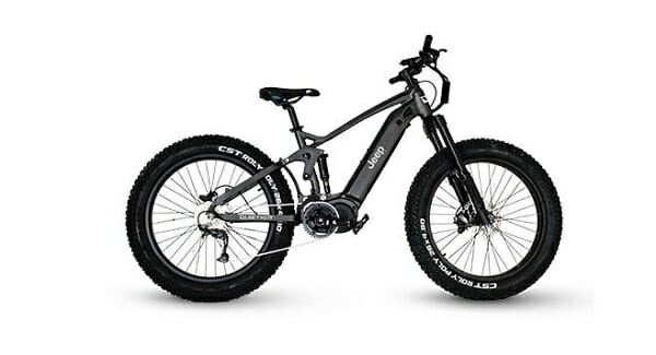 Jeep e-bike
