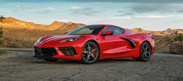 2020 Chevrolet Corvette recall