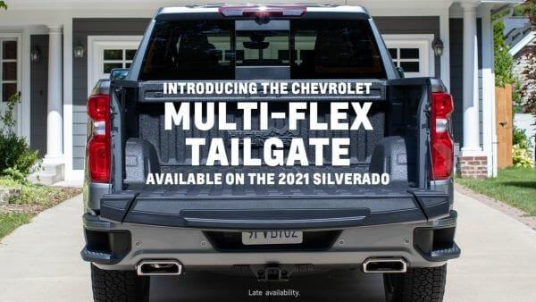 2021 Chevrolet Silverado Multi-Flex Tailgate