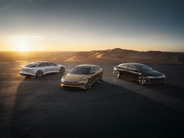 2021 Lucid Air - new cars