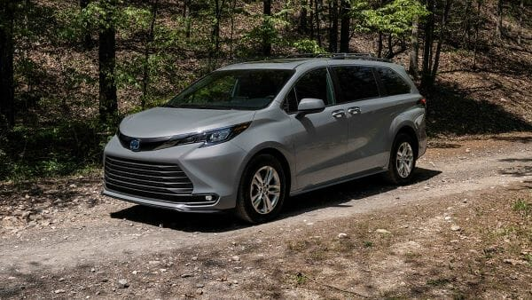 New Toyota Sienna Woodland Edition