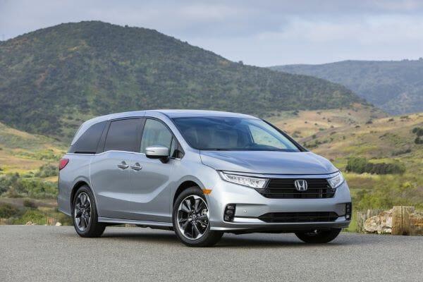 2021 Honda Odyssey - best minivan for the money