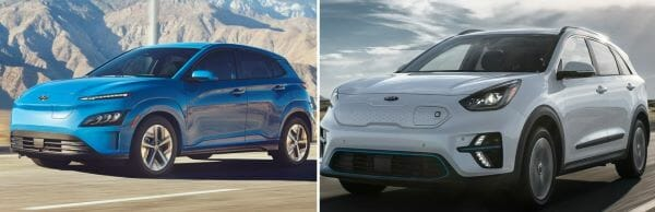 2022 Hyundai Kona Vs Kia Niro EVs